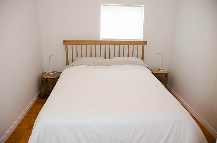 Prince edward county cottage rental bedroom