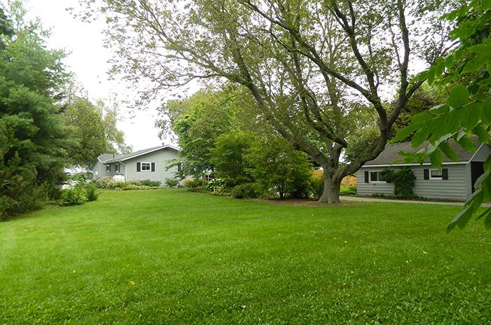 Prince edward county cottage rental yard