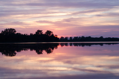 Prince edward county cottage rental sunset