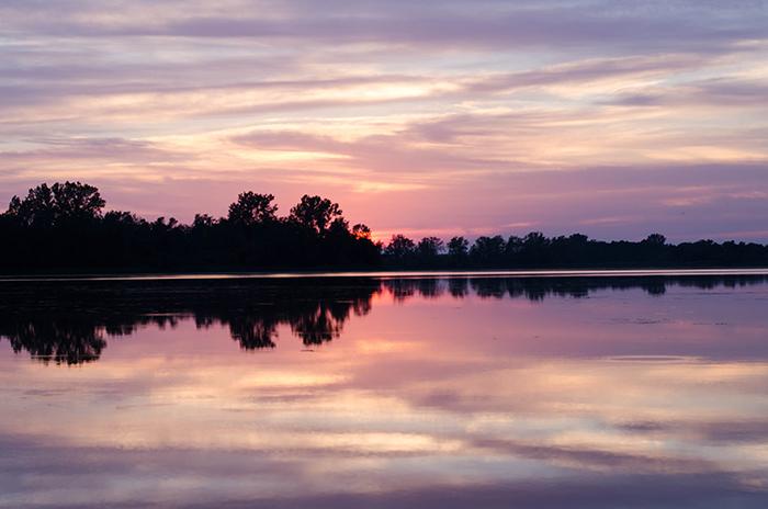 Prince edward county cottage rental sunset