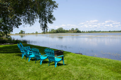 Prince edward county cottage rental waterfront