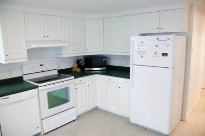 Prince edward county cottage rental kitchen