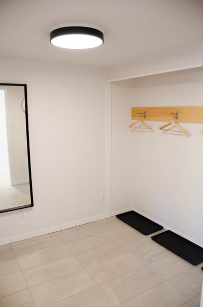 Prince edward county cottage rental mudroom